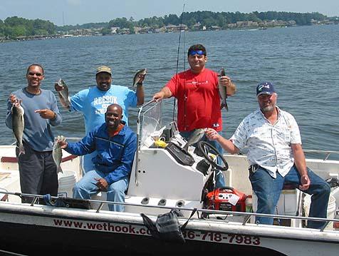 Lake conroe fishing fish species for Lake conroe fishing guides