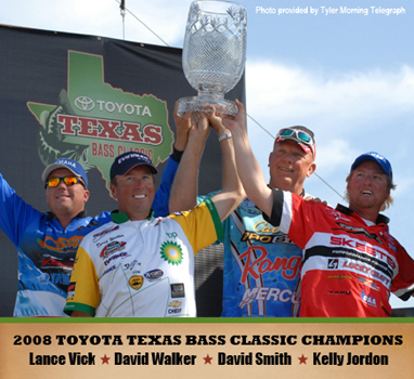 Toyota texas bass classic lake conroe texas for Texas parks and wildlife fishing report