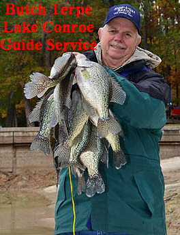 Lake conroe fishing guides solunar tables best times to for Best crappie fishing times