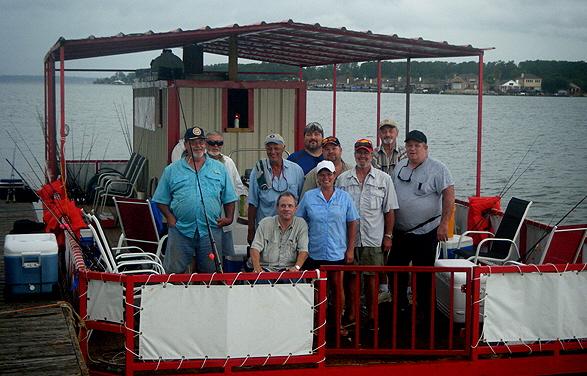 Conroe fishing adventures conroe fishing barge for Lake conroe fishing guides
