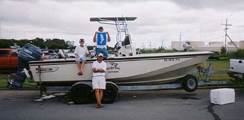Silver king adventures baytown big games fishing houston for Houston fishing charters